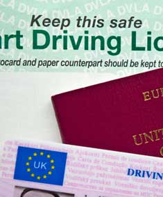 Provisional driving licence needed to start driving lessons